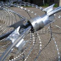 Егоза Аллигатор 600/5 спиральная колючая проволока