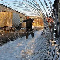 Проволока колючая Егоза Супер 1500/7 спираль, фото 1