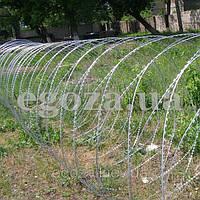 Проволока колючая Егоза Кайман 1350/9 заграждение спиральное, фото 1