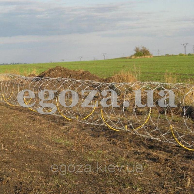 Егоза Кайман 950/9 спиральная колючая проволока, фото 1