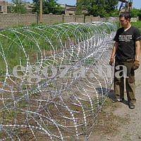 Колючая проволока Егоза Аллигатор 900/5 спиральный барьер