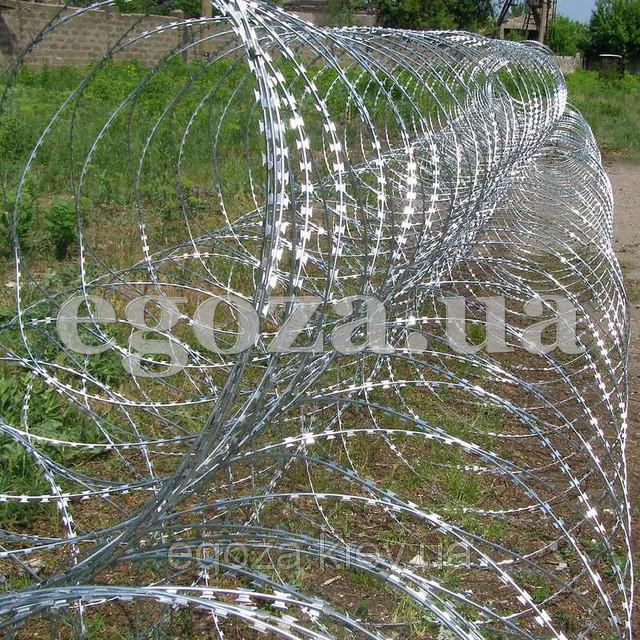 Егоза Кайман 1250/9 проволока колючая спиральная