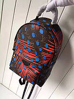 Рюкзак Louis Vuitton Palm Springs Backpack PM Coquelicot Denim