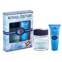Набор мужской:туалетная вода 100ml.+гель для душа 100ml. Royale Culture Lotus Valley