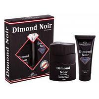 Набор мужской:туалетная вода 100ml.+гель для душа 100ml. Dimond Noir Lotus Valley