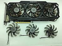 Gigabyte Radeon R9 280Х  GTX460 GTX470 GTX570 GTX580 GTX 670 HD5870 Вентиляторы