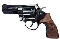 """Револьвер Profi 3"""" чёрный/пластик под дерево. Револьвер под патрон Флобера 4 мм Zbroia Profi 3"""""""