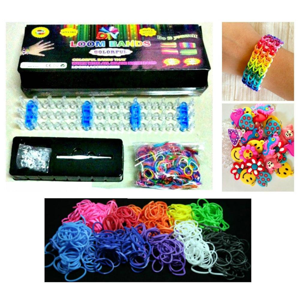 Loom Bands набор для создания уникальных браслетов - СамеТо ТМ интернет-магазин sameto.com.ua в Днепре