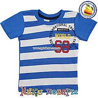 Детские футболки для мальчика от года до 5 лет (3206-1)