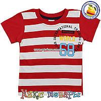 Детские футболки для мальчика от года до 5 лет (3206-2)