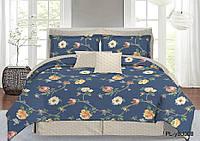 Ткань для постельного белья Перкаль Y8D008 (A+B) - (50м+50м)