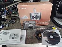 Компактный фотоаппарат Canon PowerShot A520 с комплектом