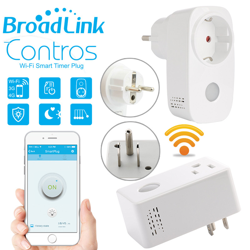Умная Wifi розетка Broadlink SP3