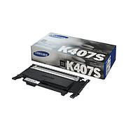 Картридж Samsung CLT-K407S, Black, CLP-320/325, CLX-3185, 1.5k, OEM