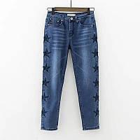 Стильные джинсы со звездами, фото 1