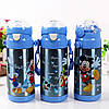 Термос zk g 604 500ml. Blue (50).Детский вакуумный термос с трубочкой поилкой.!Акция, фото 4
