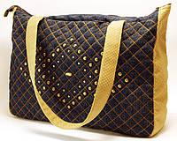 Джинсовая сумочка шоппер Смелость, фото 1