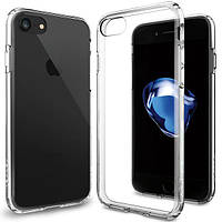Чехол Spigen для iPhone 8 / 7 Ultra Hybrid, Crystal Clear, фото 1