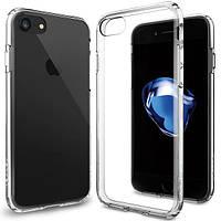 Чехол Spigen для iPhone 7 Ultra Hybrid,Crystal Clear, фото 1