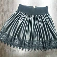 Детская юбка для девочки Ажур,разные цвета.