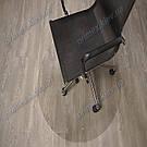 Ковер защитный прозрачный круглый 100см. Толщина 0,6мм