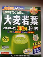Аодзиру Зеленый напиток из капусты Кале, Ячменя, Брокколи, Шпината. 132 г, 3 г х 44 саше (Япония)