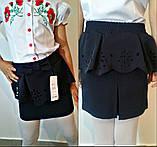 Модная детская юбка с перфорацией ., фото 2