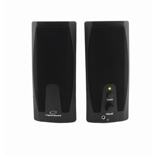 Колонки 2.0 Esperanza EP110 Black / 2?3,0Вт / 60-20000Hz / пластик / m