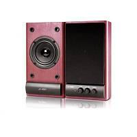 Колонки 2.0 F D R215 Cherry / 2x3Вт / 60-16000Hz / МДФ / RCA / управление спереди
