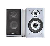 Колонки 2.0 Gemix TF-5 Silver / 2x5Вт / 100-18000Hz / МДФ / RCA / управление сзади