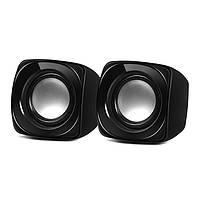 Колонки 2.0 Sven 120 Black / 2?2,5Вт / 100-20000Hz / пластик / mini-jack 3.5