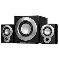 Колонки 2.1 Sven MS-915 Black / Sub: 10Вт, Sat: 2x8Вт / 40-20000Hz / МДФ / mini-jack 3.5