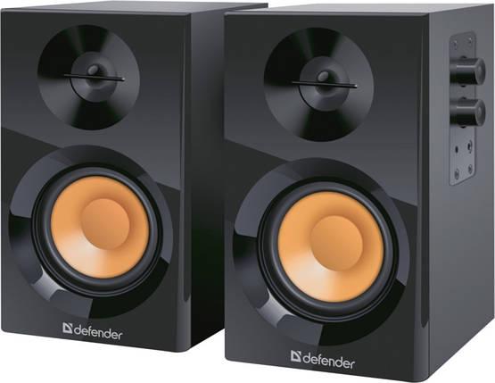 Колонки для компьютера 2.0 Defender Aurora S12, Black, акустика, акустическая система, фото 2