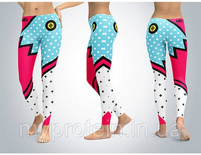 MEX Nutrition Легинсы LEGGINGS LEGGINGS Groovy Toon Flash