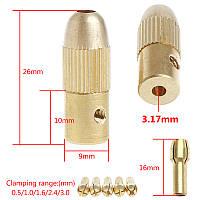 3,17 мм Мини патрон цанговый PCB для мини дрель . 5 цанг