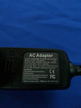Зарядное устройство для планшетов Acer 12V1.5A micro 18W