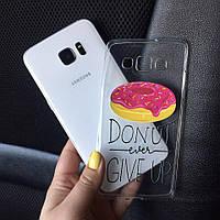 Дизайнерские чехлы на Samsung J5 2015 (J500h) с пончиком