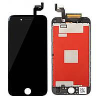 Дисплей для iPhone 6S + Touchscreen, черный, оригинал