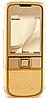 Китайский Nokia 8800 Gold, 1 SIM, память 1 Гб, камера 2 Мп. Стальной корпус.
