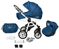 Детская прогулочная коляска PAJERO 3в1 LEN ADAMEX GRATISY