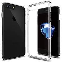 Чехол Spigen для iPhone 7 Plus Ultra Hybrid, Crystal Clear, фото 1