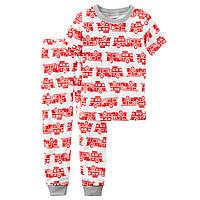 Хлопковая пижама Carter's для мальчиков (CША)