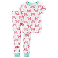 Хлопковая пижама Carter's для девочек (CША)