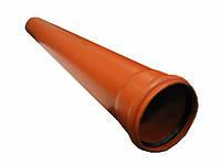 Труба ПВХ SN2 110x1000х2,2мм Walrom