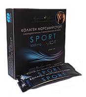 Коллаген СПОРТ с глюкозамином, хондроитином и МСМ, 14 стик-пакетов по 5 г