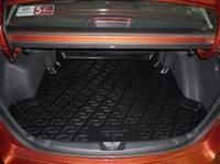 Резиновый коврик в багажник  Kia Cerato SD 09-13 Lada Locer (Локер)