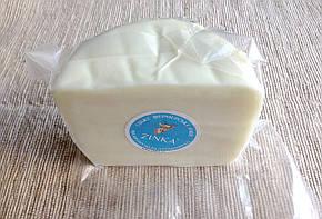 Zinka козиний сир напівтвердий незрілий /половинка 350g/, фото 2