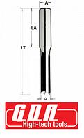 Долбежная фреза двунаправленного вращения D = 10 мм, Хвостовик = 13 мм.