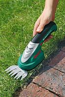 Аккумуляторные ножницы для травы и кустарников Bosch Isio