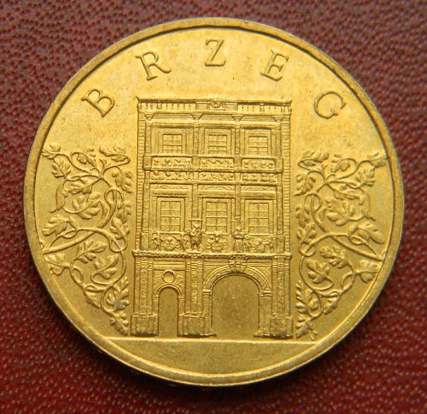 Польша 2 злотых 2007 г., ' Брзек '